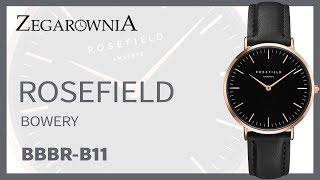 Zegarek Rosefield Bowery BBBR-B11 | Zegarownia.pl