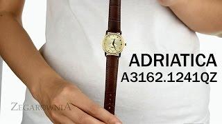 Zegarownia.pl ADRIATICA CLASSIC DAMSKI Kod produktu: A3162.1241QZ