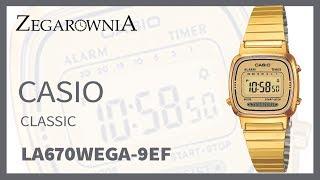 Zegarek Casio Classic LA670WEGA-9EF | Zegarownia.pl