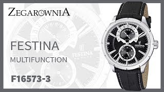 Zegarek Festina Multifunction F16573-3 | Zegarownia.pl