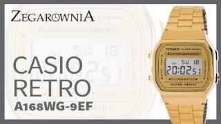 Zegarek CASIO RETRO A168WG-9EF