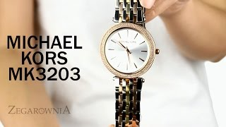 Zegarownia.pl ZEGAREK DAMSKI MICHAEL KORS DARCI Kod produktu: MK3203