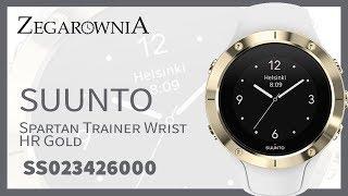 Zegarek Suunto Spartan Trainer Wrist HR Gold SS023426000   Zegarownia.pl