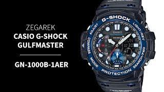 Zegarek Casio G-SHOCK Gulfmaster GN-1000B-1AER | Zegarownia.pl