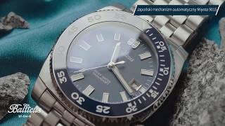 Zegarek Balticus Deep Water Automatic BT-DW-B   Zegarownia.pl