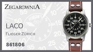 Zegarek Laco Flieger Zurich 861806   Zegarownia.pl