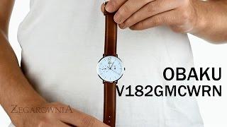 Zegarownia.pl OBAKU DENMARK CLASSIC MĘSKI Kod produktu: V182GMCWRN