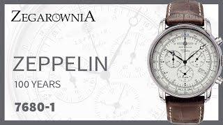 Zegarek Zeppelin 100 Years Zeppelin Chronograph 7680-1 | Zegarownia.pl