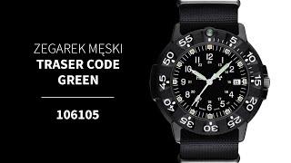 Zegarek Traser Code Green 106105 | Zegarownia.pl