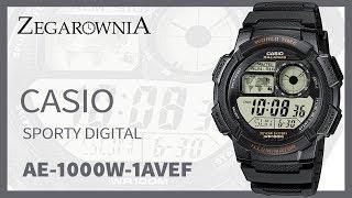 Zegarek Casio Sporty Digital AE-1000W-1AVEF | Zegarownia.pl