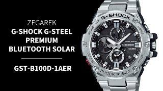 Zegarek Casio G-SHOCK Steel Premium GST-B100D-1AER | Zegarownia.pl