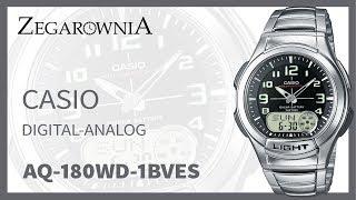 Zegarek Casio Digital Analog AQ-180WD-1BVES | Zegarownia.pl