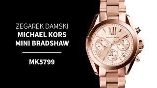Zegarek Michael Kors Mini Bradshaw MK5799 | Zegarownia.pl