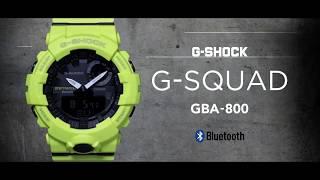 G-SHOCK G-SQUAD GBA-800 | Funkcje i możliwości