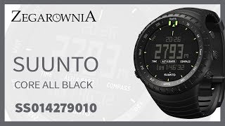 Zegarek Suunto Core All Black SS014279010 | Zegarownia.pl