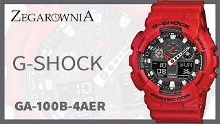 Zegarek G-SHOCK GA-100B-4AER | Zegarownia.pl