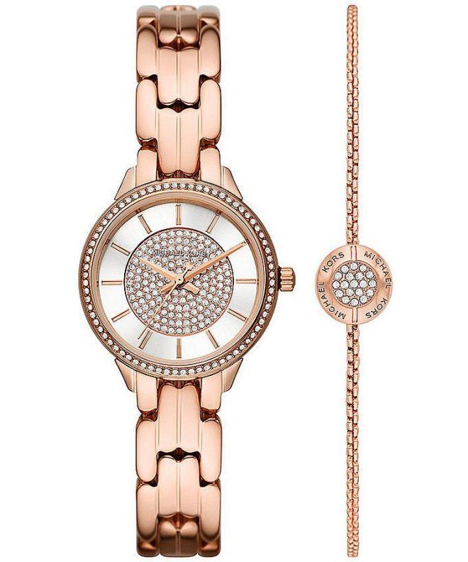 Zegarek damski Michael Kors Allie Gift Set MK1039