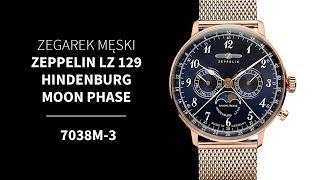 Zegarek Zeppelin LZ 129 Hindenburg 7038M-3   Zegarownia.pl
