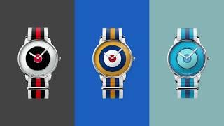 Kolorowe zegarki Charles BowTie | Zegarownia.pl