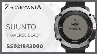 Zegarek Suunto Traverse Black SS021843000 | Zegarownia.pl