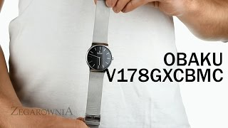 Zegarownia.pl OBAKU DENMARK CLASSIC MĘSKI Kod produktu: V178GXCBMC