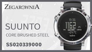 Zegarek Suunto Brushed Steel SS020339000 | Zegarownia.pl