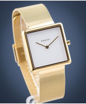 Zegarek damski Obaku Kvadrat