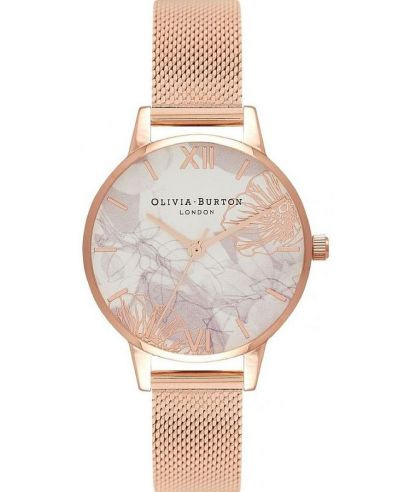 Zegarek damski Olivia Burton Abstract Florals