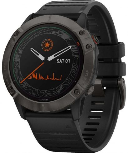 Zegarek męski Garmin Fenix 6X Pro Solar