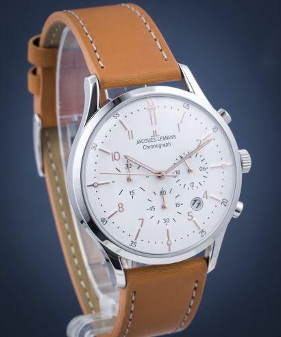 Zegarek męski Jacques Lemans Retro Classic Chronograph