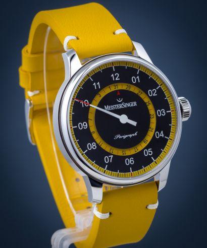 Zegarek męski MeisterSinger Perigraph Mellow Yellow Limited Edition