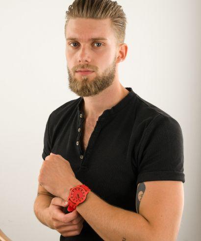 Zegarek męski Puma Red Silicone