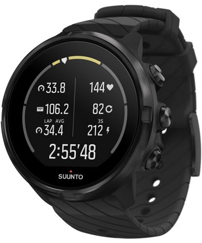 Zegarek Suunto 9 All Black Wrist HR GPS