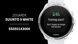 Zegarek Suunto 9 Baro White SS050143000   Zegarownia.pl