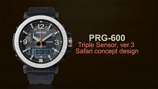 CASIO PRO TREK PRG-600 product video