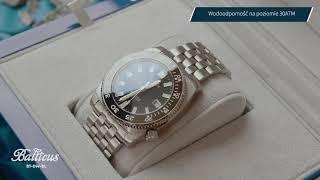 Zegarek Balticus Deep Water Automatic BT-DW-BL   Zegarownia.pl
