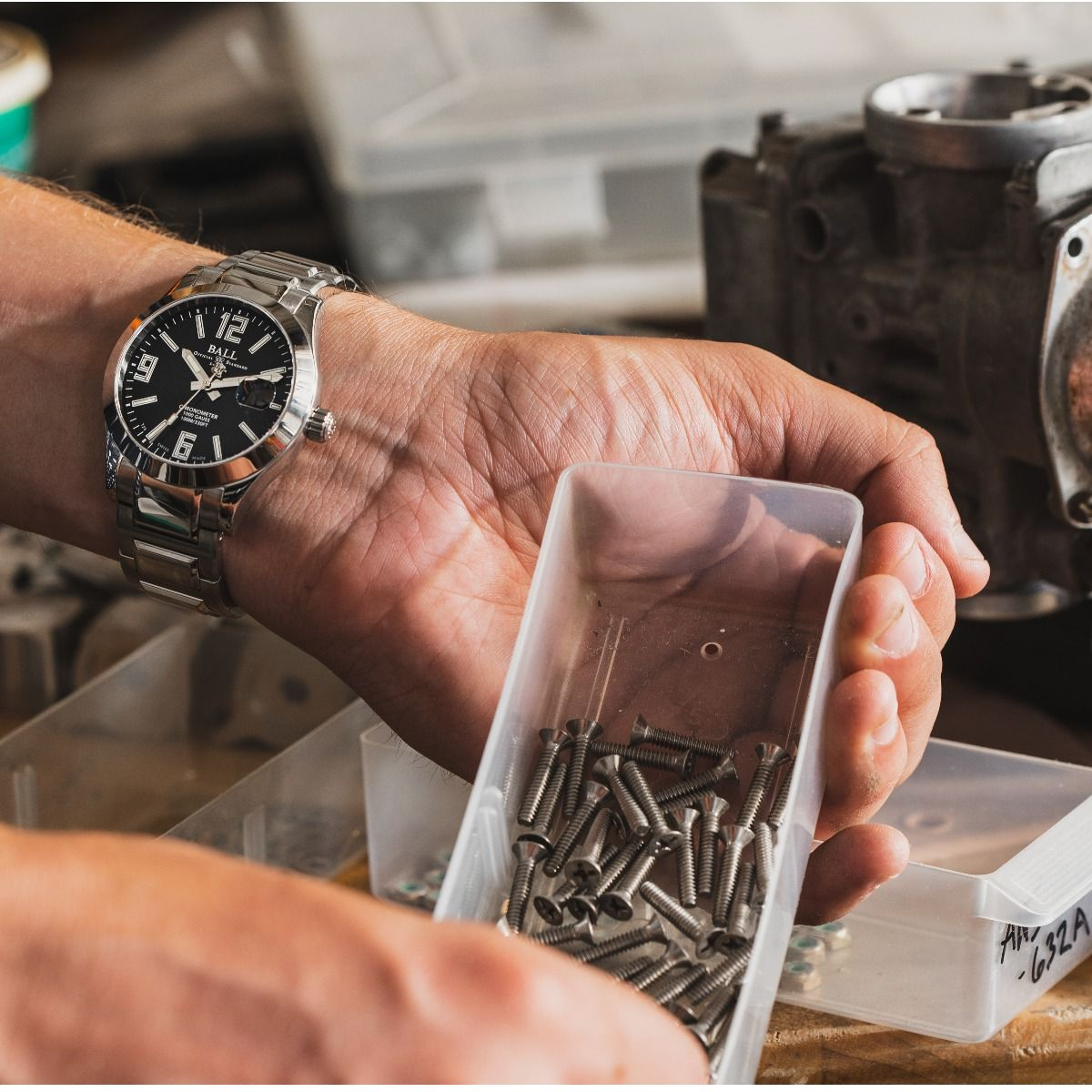 Zegarek męski Ball Engineer III Pioneer Automatic Chronometer