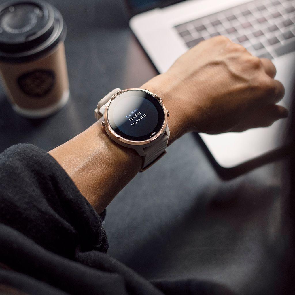 Zegarek smartwatch Suunto 7 Sandstone Rosegold Wrist HR GPS