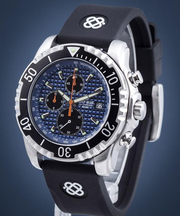 Zegarek męski Deep Blue Pro Sea Diver 1000M Automatic PROMIL42BK