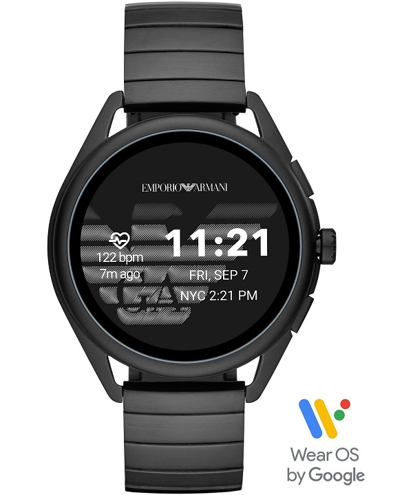 Zegarek smartwatch Emporio Armani Connected Matteo