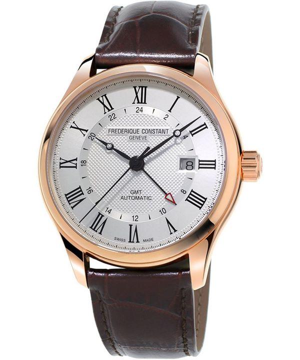 Zegarek męski Frederique Constant Classics GMT Automatic