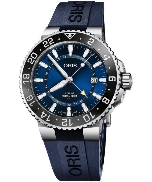 Zegarek męski Oris Aquis GMT Automatic 01 798 7754 4135-07 4 24 65EB