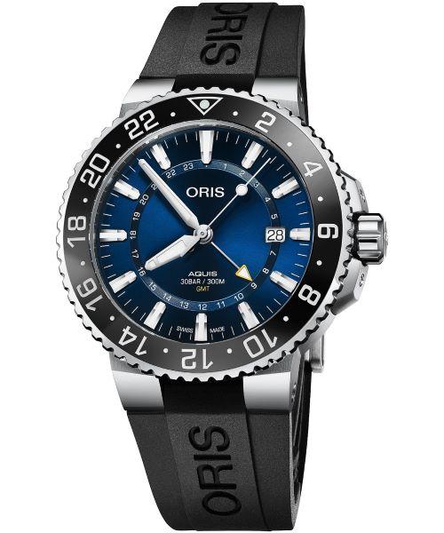 Zegarek męski Oris Aquis GMT Automatic01 798 7754 4135-07 4 24 64EB