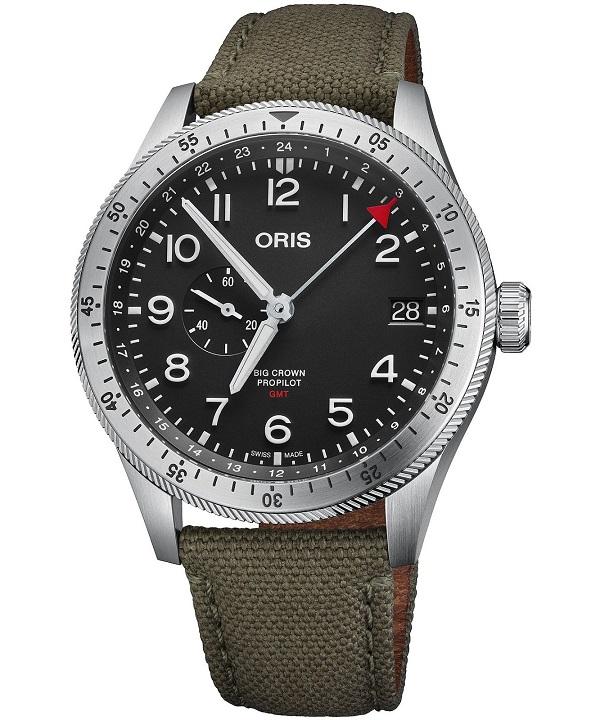 Zegarek męski Oris Big Crown ProPilot Timer GMT Automatic