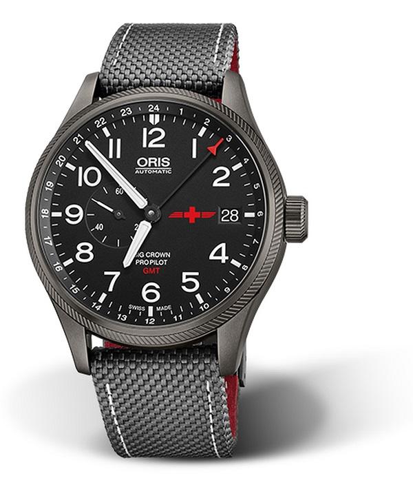 Zegarek męski Oris GMT REGA Automatic Limited Edition