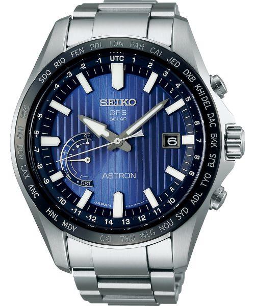 Zegarek męski Seiko Astron GPS Solar Perpetual Calendar SSE159J1