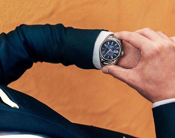 klasyczny zegarek do garnituru timex