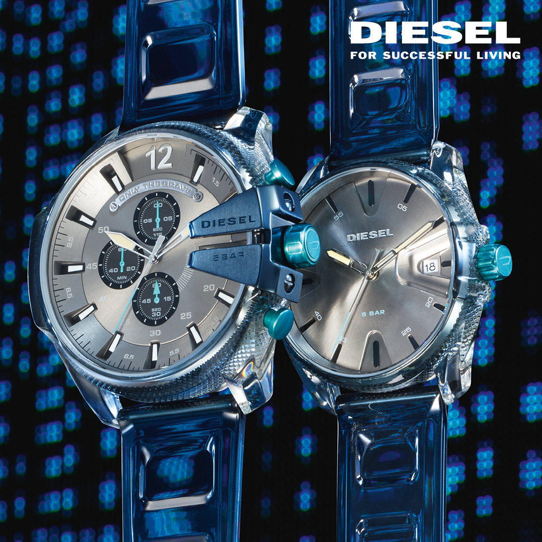 zegarki Diesel Transparency Watch Collection