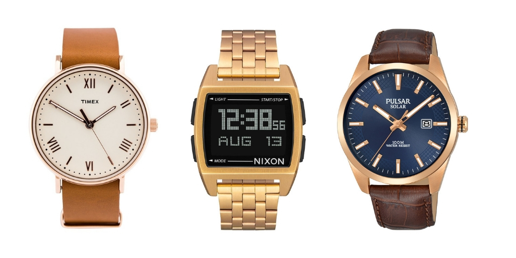 Zegarki męskie Timex / Nixon / Pulsar
