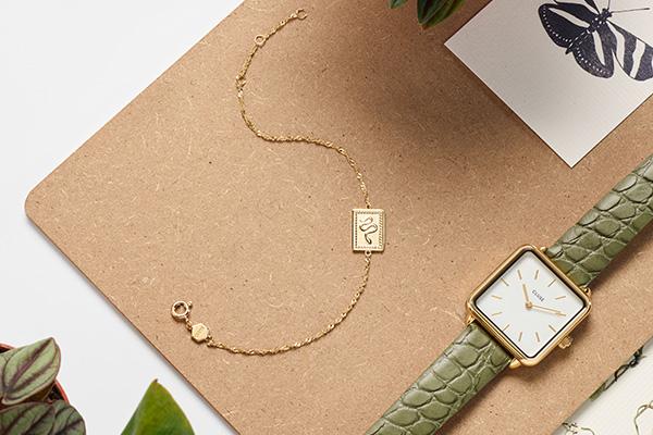 Czyszczenie złota - złoty zegarek